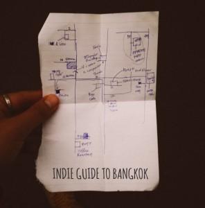INDIE GUIDE TO BANGKOK