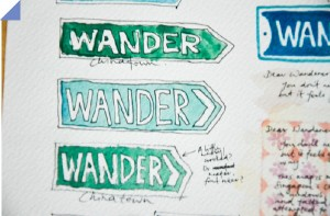 Wander, an indie map to Singapore